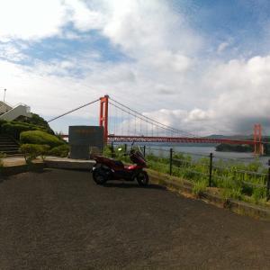 PCX125平戸大橋までツーリングしてきた