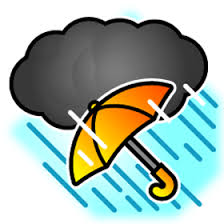 雨ばかり……