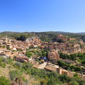 【アルケサル】アラゴンの古都、イスラム文化が漂うスペインの小さな村(Alquézar)