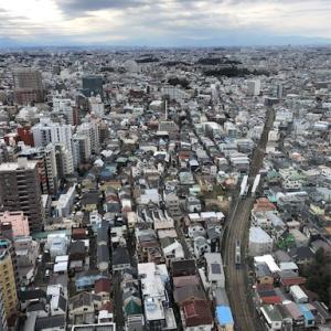 キャロットタワーから世田谷を一望@三軒茶屋