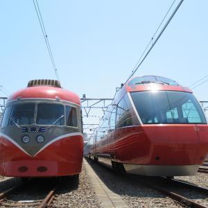 小田急ファミリー鉄道展2019へ