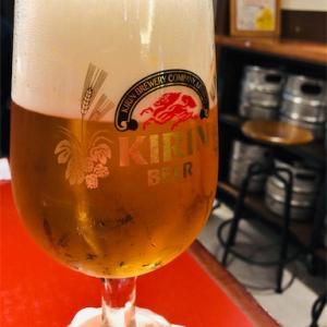 キリンシティでちょっと一杯 黒ビールカレーも美味い