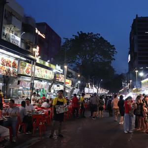 マレーシア夜市