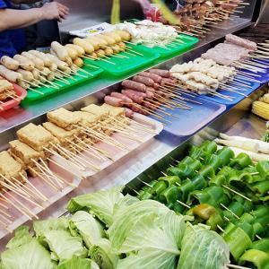 台湾でハマり中の串焼き屋台