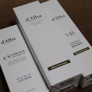 d'Albaを韓国からお取り寄せ