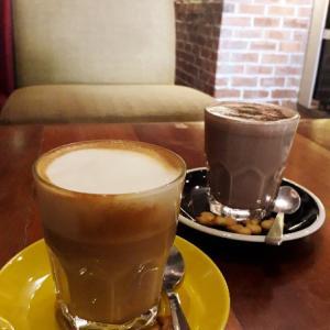 子どもと一緒に10時のおやつ@COFFEE ADDICT
