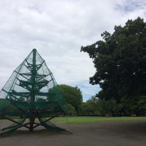 平塚総合公園へバーチャル一時帰国中。
