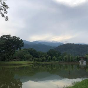 タイピンの朝が静かに始まる。