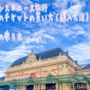 フランス*ニース旅行【電車のチケットの買い方(購入方法)&電車の乗り方】