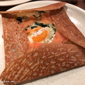 銀座で美味しいそば粉を使用したフランスのガレットを食せるお店@ブレッツカフェ クレープリー