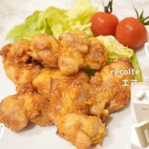 récolte(レコルト)のエアーオーブンでノンフライのから揚げ作ってみた!もう一品欲しい時やダイエットにも使える調理家電