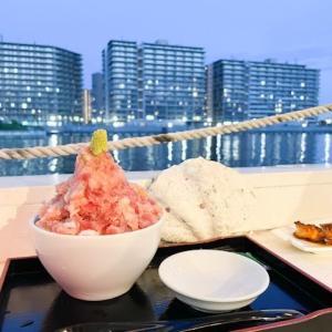選手村が一望!非現実的でバカンス気分になれる都会のオアシス 水辺のレストラン  マグロ卸のマグロ丼の店