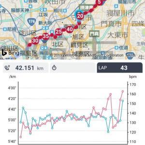 【速報】大阪・淀川市民マラソンを無事完走