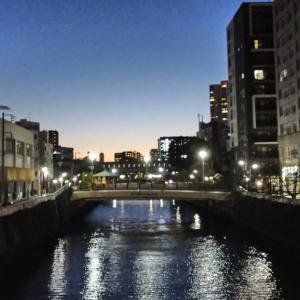 49日間連続でラン&ウォーク~夜の品川から川崎をウォーキング
