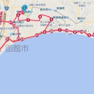 函館マラソン(北海道、2019年)