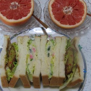 我が家のお昼ご飯&晩御飯で~~す♫(^^♪