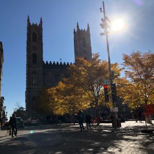モントリオールでモントリオール観光