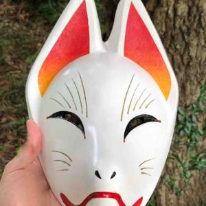 狐面制作【夜酉薙式.廿肆型】