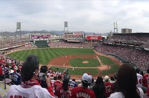 静かな野球観戦