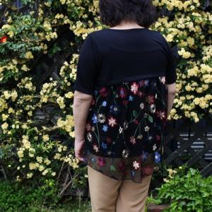 ベルーナ ラナンの美シルエットタックパンツで着やせコーデを楽しもう