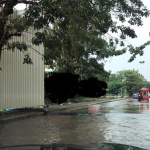 タイの大雨はすごかった