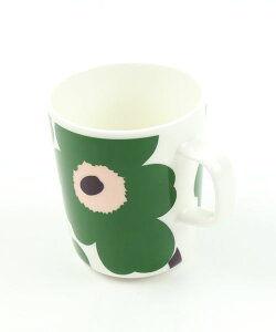 Unikko / マグカップ / ホワイトxグリーンxピーチ