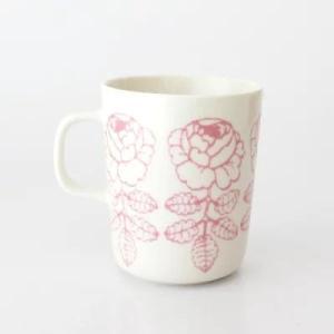 Vihkiruusu / マグカップ / ホワイトxピンク
