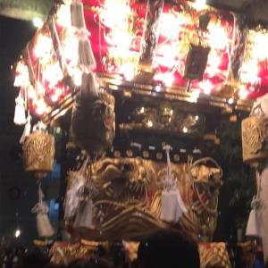 電飾の布団太鼓も凄かった