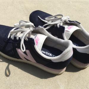 ニューバランスのスニーカーを購入