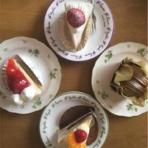 どんぶりケーキで有名なパティスリー ペッシュの普通のケーキ食べました。【兵庫県姫路市】