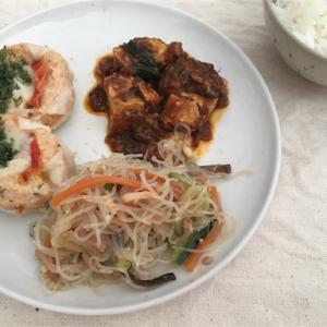 成城石井のお惣菜ランチとデザート