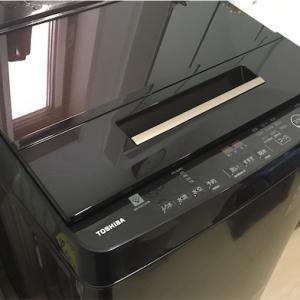 衝動買いに近いTOSHIBA縦型洗濯機が納品されました