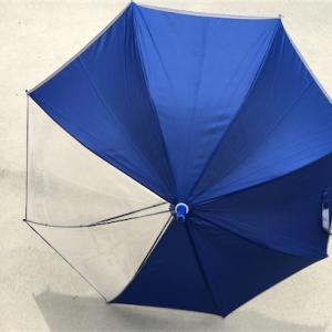 小学2年生の傘が小さいから大きいへ