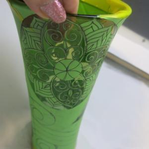 ◆製作途中の花器など