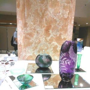 ◆三越本店『ガラス今日展』