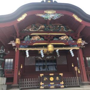 暑い日は涼を求めて武蔵御嶽神社。都心より3、4度涼しいです