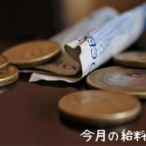 今月の給料は12万円