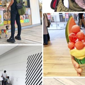 ROCCA&FRIENDS CREPERIE to TEA 横浜店〜テラス席なら愛犬同伴可能な三井アウトレットパーク横浜ベイサイド内のクレープ店