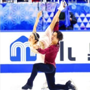 NHK杯 アイスダンス村元・高橋ペアにビックリ