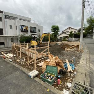 あつひろ邸、基礎工事始まりました!