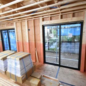 NewStyle玉川学園、木工事進行中です!