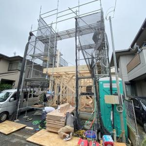 祝!狛江の家、上棟!