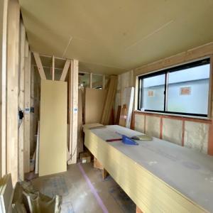狛江の家、木工事進行中!