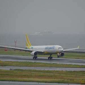 6月13日のセントレア~やっと間近で撮れたセブパシフィック航空の新塗装のA330-300編