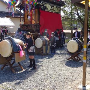 岡田春まつり本祭~奥組「寄せ太鼓」編