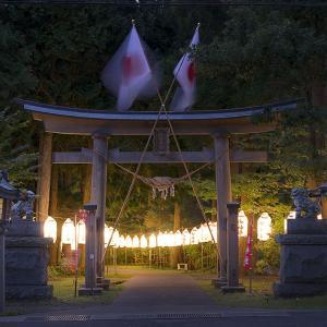 下北むつ王国「八幡神社@横浜町」