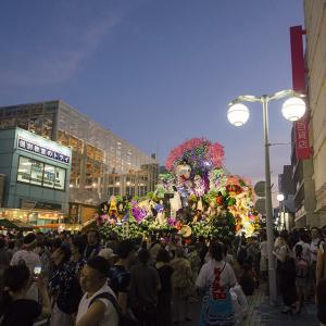 お祭りシーズン 「八戸市の変」