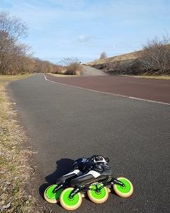 木曽川自転車道を滑るよ!(126)