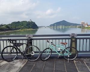 木曽川自転車道を走る (28)