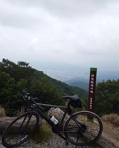 池田山ヒルクライム&登山
